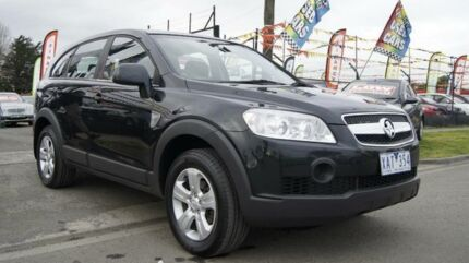2009 Holden Captiva CG MY09 SX (4x4) Black 5 Speed Automatic Wagon Brooklyn Brimbank Area Preview