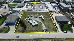 FOR RENT  INDUSTRIAL LAND AURORA RD AND WOODBINE AVE