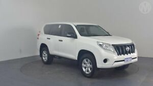 2014 Toyota Landcruiser Prado KDJ150R MY14 GX Glacier White 5 Speed Sports Automatic Wagon Perth Airport Belmont Area Preview