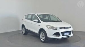 2014 Ford Kuga TF Ambiente (AWD) Frozen White 6 Speed Automatic Wagon Perth Airport Belmont Area Preview