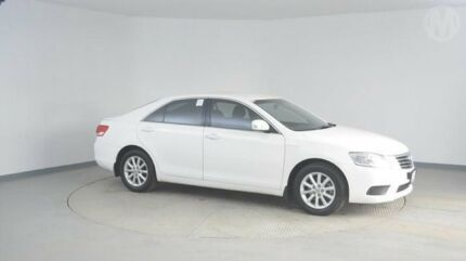 2011 Toyota Aurion GSV40R MY10 AT-X Diamond White 6 Speed Sports Automatic Sedan Wingfield Port Adelaide Area Preview