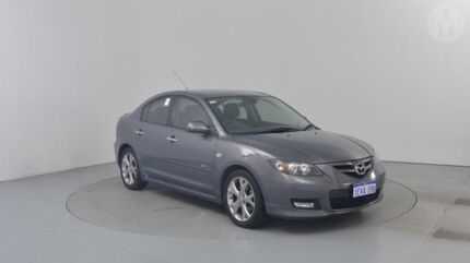 2007 Mazda 3 BK MY06 Upgrade SP23 Galaxy Grey 5 Speed Auto Activematic Sedan Perth Airport Belmont Area Preview