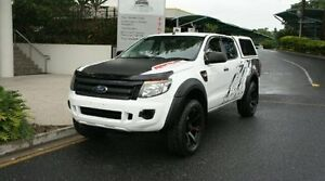 2012 Ford Ranger PX XL Double Cab 4x2 Hi Cool White Albion Brisbane North East Preview