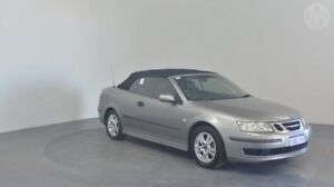 2004 Saab 9-3 442 MY2004 Linear Grey 5 Speed Sports Automatic Convertible Perth Airport Belmont Area Preview