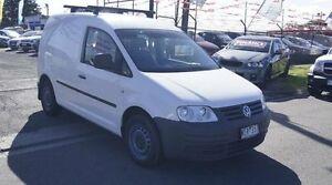 2007 Volkswagen Caddy 2K MY07 1.9 TDI White 6 Speed Direct Shift Van Brooklyn Brimbank Area Preview