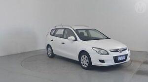 2011 Hyundai i30 FD MY11 SX cw Wagon Ceramic White 4 Speed Automatic Wagon Perth Airport Belmont Area Preview