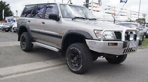 1998 Nissan Patrol GU ST (4x4) Gold 4 Speed Automatic 4x4 Wagon Brooklyn Brimbank Area Preview