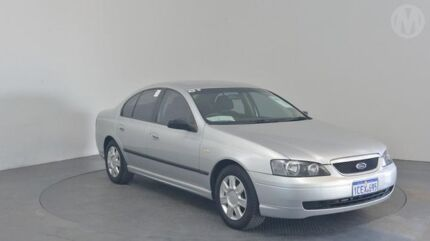 2005 Ford Falcon BA MkII XT Lightning Strike 4 Speed Auto Seq Sportshift Sedan Perth Airport Belmont Area Preview