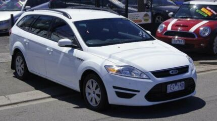 2011 Ford Mondeo MC LX Tdci White 6 Speed Direct Shift Wagon Brooklyn Brimbank Area Preview