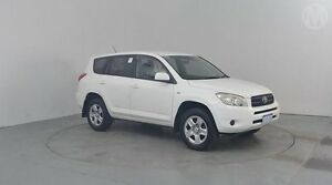 2007 Toyota RAV4 ACA33R CV Glacier White 4 Speed Automatic Wagon Perth Airport Belmont Area Preview