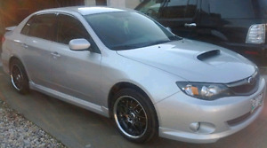 2009 Subaru WRX Base Sedan (~350HP) W/Mods!