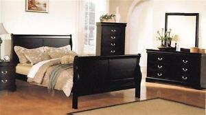 New!!! Louis Phillip Bedroom Set ONLY $839... Set includes Dresser, Mirror, Queen Headboard, Queen Footboard and Queen R