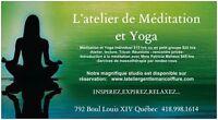 Séance de Méditation et yoga
