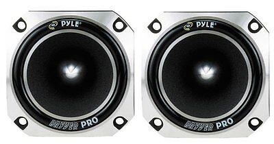 Pyle Pro 1 Inch 300 Watt Heavy Duty Titanium Super Car Tweeter (2 Pack) | PDBT28