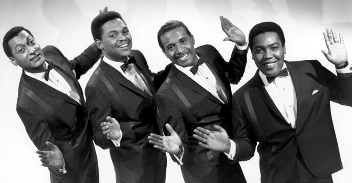 The Four Tops - 2 audio cassette tapes