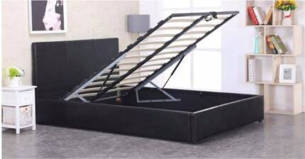 INCREDIBLE SALE Josie Gas Lift Double/Queen Bed AV At Both