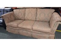 FABRIC SOFA, GOOD CLEAN CONDITION - - - -FREE