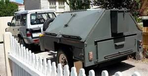 1992 Mitsubishi Pajero Wagon + 4x4 camper trailer Reservoir Darebin Area Preview