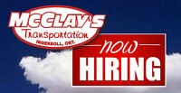 McClay's is Hiring AZ Drivers in Ingersoll