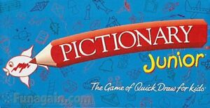 Pictionary Junior Board Game