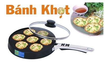 BÁNH KHỌT (KIM HANG BRAND) Vietnamese Savory Mini Pancakes Pan (US -Seller)