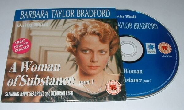 Barbara Taylor Bradford: A Woman of Substance  Part 1 - engl. DVD