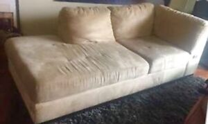 Nice Microfibre Couch / Chaise