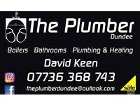 Plumber. Gas Safe registered.