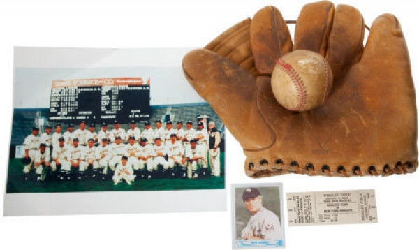 "1984 ""The Natural"" Props- Roy Hobbs Baseball Card,Glove,Ball,Team Photo,REDFORD!"