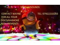 Disco/karaoke hire