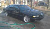 bmw 7 series for PARTS or SCRAP
