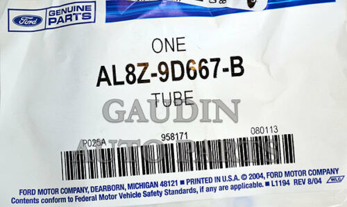 Genuine Ford Tube Assembly AL8Z-9D667-B