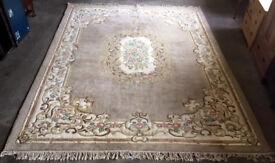 large oriental carpet