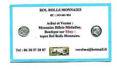 Rol Rolls Monnaies