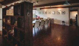 Meeting room / workspace available for hire in this B&B