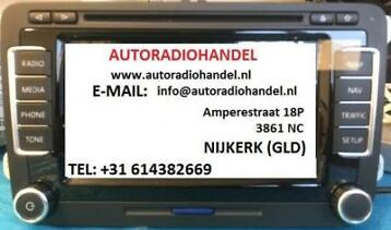 "ALLE ORIGINELE VW  AUDI SCODA RCD OF RNS RADIO""S"