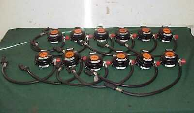 12 Scott E-z Flo Regulator Air Pak Ezflo Hud Vibralert 200077-10 Quikdisconnect