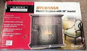 SYLVANIA ELECTRIC FIRE PLACE