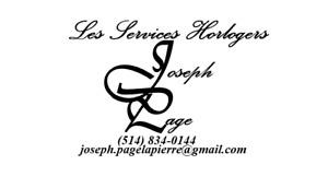 Services horlogers / Watch repair services