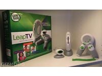 Leap tv with games