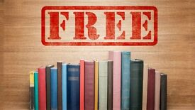 Volunteers Wanted GET FREE BOOKs