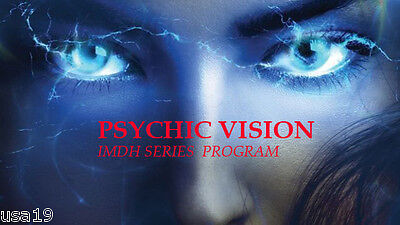 Psychic Vision Subliminal Hypnosis AUDIO DVD Make others Freak out
