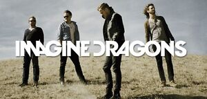 2 tickets for Imagine Dragons at Rogers Place