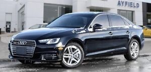 LEASE TAKEOVER - 2017 AUDI A4 KOMFORT PACKAGE - QUATTRO