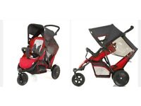 Red Hauck Double Buggy