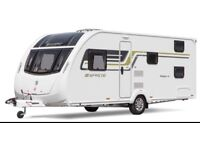 Sprite Major 6 Touring Caravan Fixed Bunks