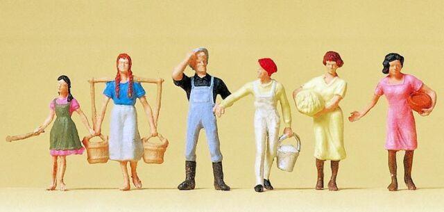 Figurines Preiser H0 (14083): on the Farm