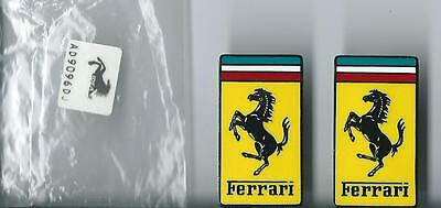 Ferrari Enamel Pin Badge x 2 Lapel Pin Official Merchandise Sealed In Bag