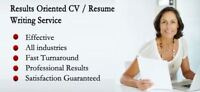 Guarantee* an interview with our resume writing service