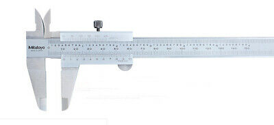 Japan Mitutoyo 530-104 Vernier Caliper Metric Inch Range 0-150mm 0-6in 0.02mm